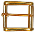 40mm Brass Heavy duty Roller buckle. For belts up to 40mm (1½ inches) wide (CODE ZC1)
